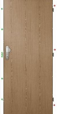 Bezpečnostní dveře Bedex Standard 3 - do bytu, světlé
