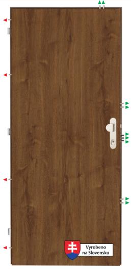 Dveře Sherlock K 3303