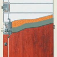 Řez dveřmi Gerda CPX 3010