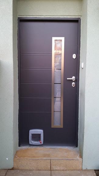 Bezpečnostní dveře, TT Plus s průlezem pro kočku, Chrudim
