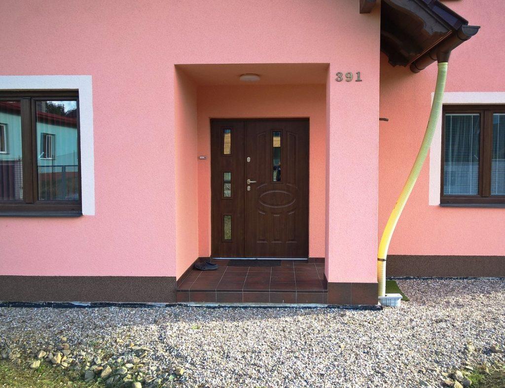 Dvoukřídlé bezpečnostní dveře, TT Max, Jaroměř