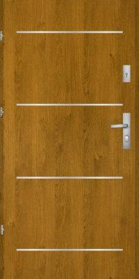 Bezpečnostní dveře do bytu K1000 TI/56