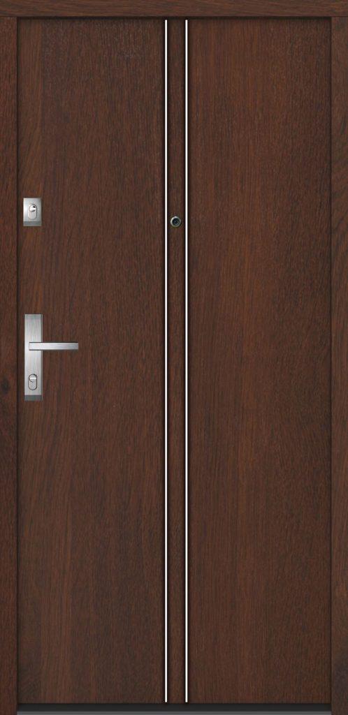 Bezpečnostní dveře Gerda, vzor Erfurt 2