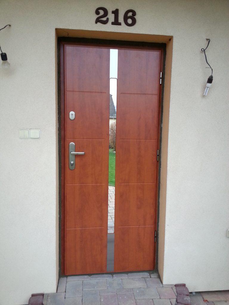 Bezpečnostní dveře, SX20 s ALU zárubní, Mladá Boleslav