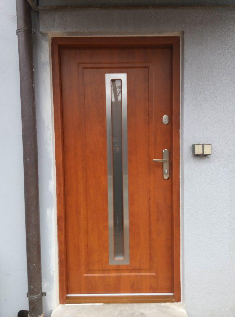 Bezpečnostní dveře, GWX20 s ALU zárubní, Pardubice