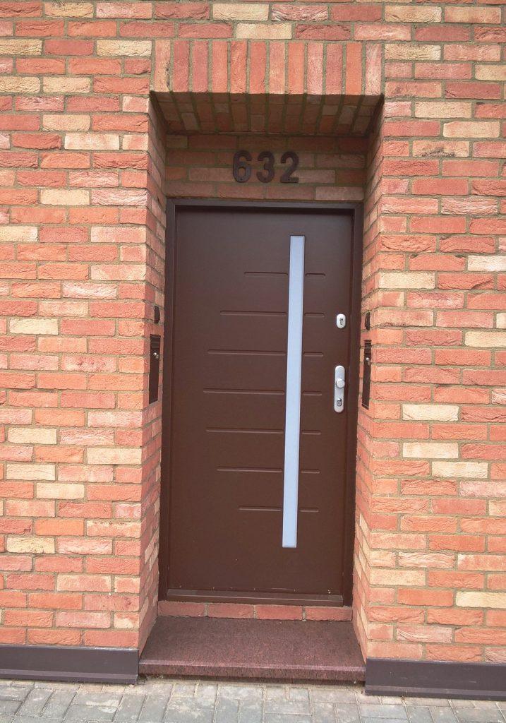 Bezpečnostní dveře, CX20, Pardubice