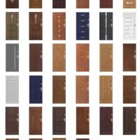 Dostupné vzory panelových dveří - nabídka na vyžádání