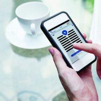 Možnost ovládání Entru mobilním telefonem