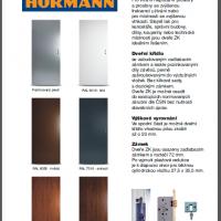 Plechové dveře Hörmann ZK vnitřní