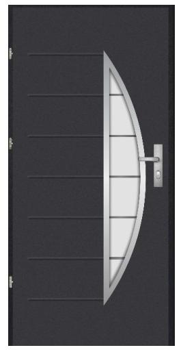 Bezpečnostní dveře Komsta K2000 3 GT/72 Premium