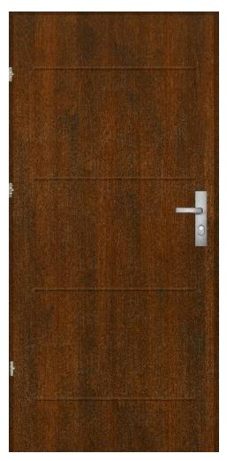 Bezpečnostní dveře Komsta K2000 T/90 Passiv