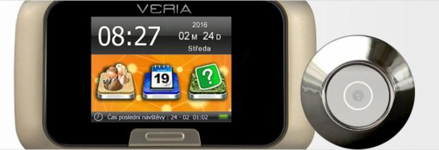 Digitální kukátko VERIA-DDK-5074CZ