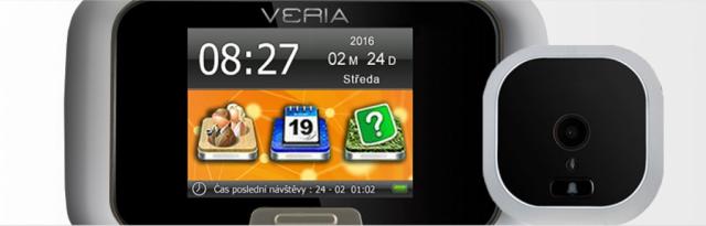 Digitální kukátko VERIA-DDK-5075CZ
