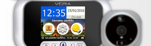 Digitální kukátko VERIA-DDK-5085CZ
