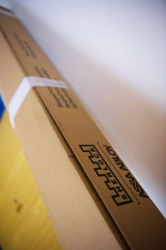 Nová bezpečnostní zárubeň už čeká v krabici