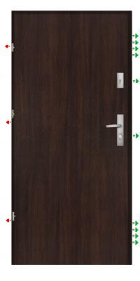 Bezpečnostní dveře RC3
