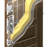 Řez panelovými dveřmi RC3