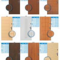 Vzory panelových dveří do bytu 2