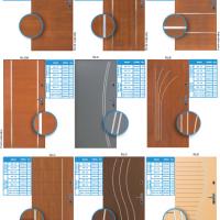 Vzory panelových dveří do bytu 6