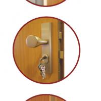 Detail bezpečnostních dveří ve 3RC