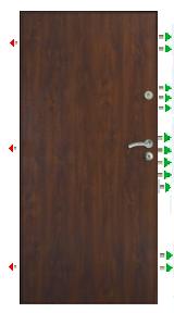 Bezpečnostní dveře ve 4RC